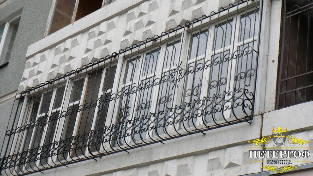 Кованые решетки на окна, решетки на балкон: цены и фото. куп.
