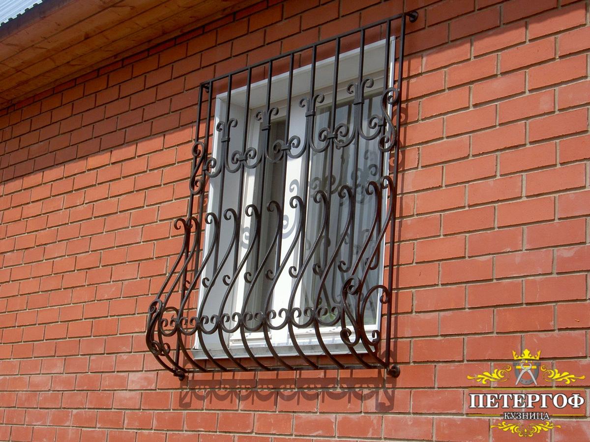 фото каталог решетки окна на